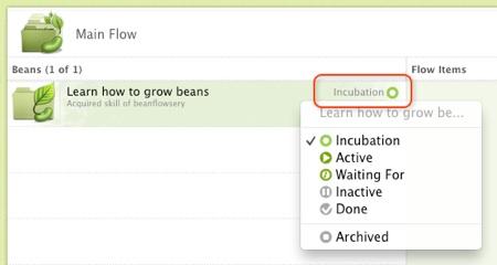 bean statuses 1