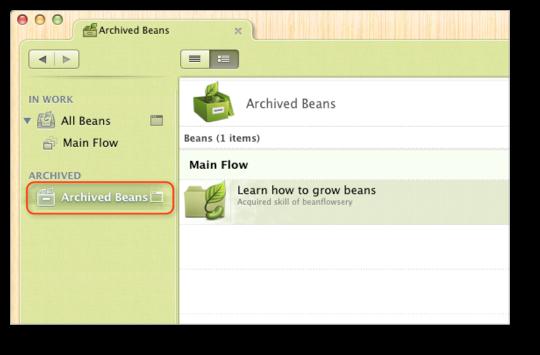 bean statuses 5